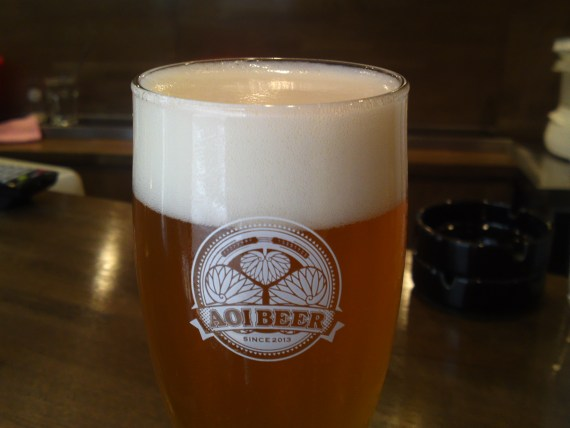 Shizuoka Beer Tasting: Aoi Brewing-Golden Ale