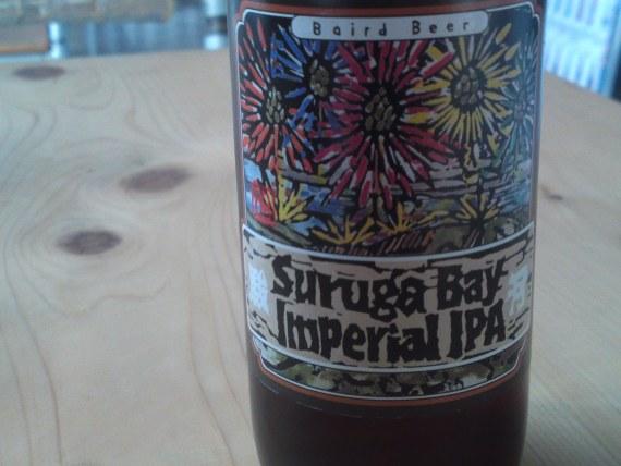Shizuoka Beer Tasting: Baird Beer Brewery-Suruga Bay Imperial IPA (Conducted at ICN Cafe in Shizuoka City!)