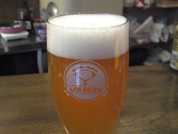 Shizuoka Beer Tasting: Aoi Brewing-Golden Ale (New Version!)