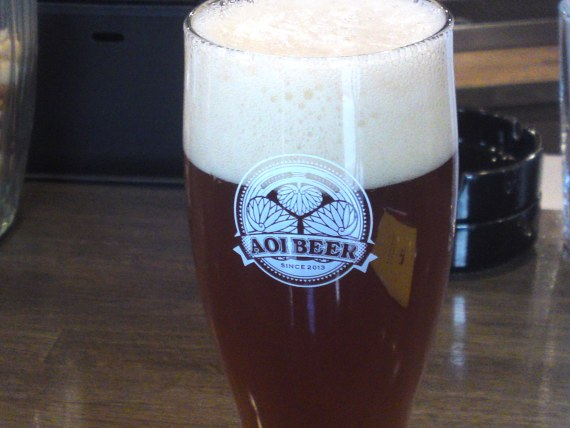 Shizuoka Beer Tasting: Aoi Brewing-Pale Ale (New Version!)