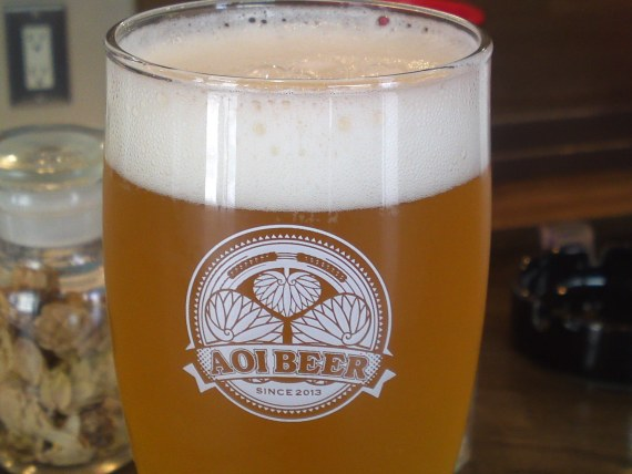 Shizuoka Beer Tasting: Aoi Brewing-Primeur French Saison, Partially Matured