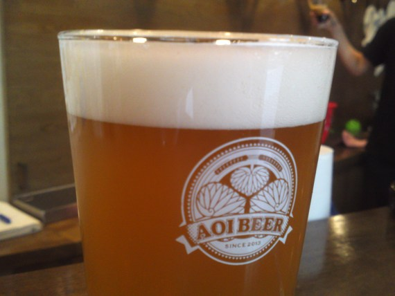 Shizuoka Craft Beer: Aoi Brewing-Honnori Ocha Ale/Honnori Green Tea Ale (2nd Batch)!