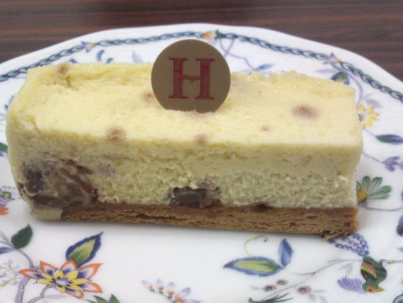 Classic Cakes by Takuya Hanai at Salon de The Hanai (2): Blue Cheese cake!