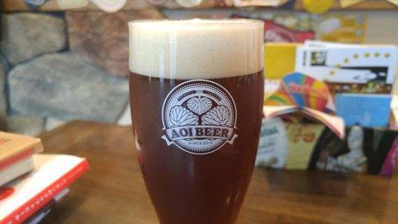 静岡県産地ビール:Aoi Brewing-Never Mind The Hops