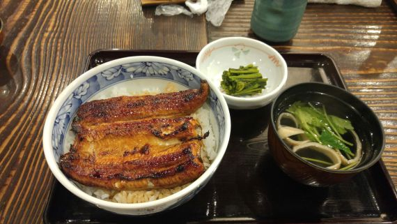 Japanese Gastronomy: Eel Lunch at Unagi No Hirota in Gotemba City!